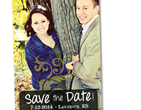 Save the Date Design Invite