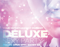 Deluxe Sexy Party Flyer Template