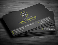 Creative Lawyer Business Card [ update 1-2014 ]