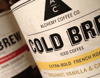 Alchemy Coffee Company Identity and Packaging