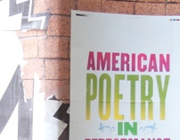 American Poetry in Performance Book Cover