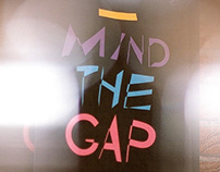 _ Mind the gap / Book Design / 2012