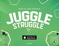 Juggle Struggle - Endless Jumper