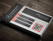 Single Sided Corporate Business Card
