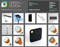 green by design website design
