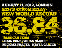 London Olympics: Jamaican Relay World Record