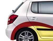 Biser Oliva Car Branding