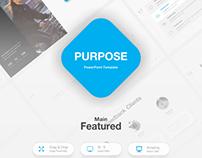 Purpose Presentation Template