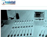 Prointel Sitio Web