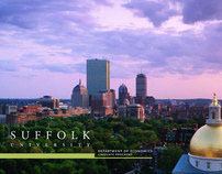 Suffolk University Graduate Economics Brochure