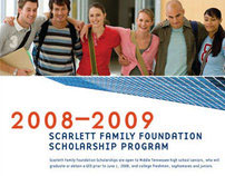 Scarlett Family Foundation Scholarship Materials
