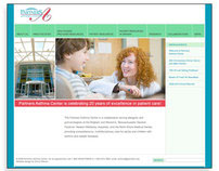 Partners Asthma Center website redesign