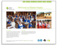 Global Impact website redesign