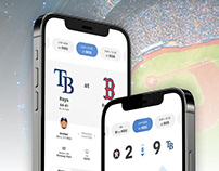MLB App Concept