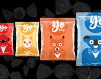 Food bags Mock-up (Pack)