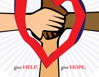 CreHAITIve Fundraising Poster