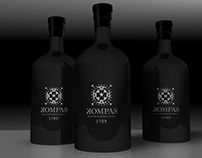 Label Design Vancouver / Kompas Vodka