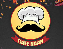 Menu Design for Cafe Naan