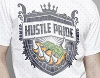 Hustle Pride Studio Logo
