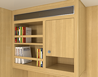 Locker Bookcase