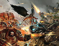 Astorath VS Ghazghkull /// Warhammer Fanart