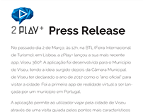 2 Play / Press Release