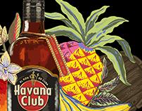 HAVANA CLUB RUM X LLEW MEJIA