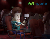 "Movistar ""Tu Go"" - (Cinema Advertising)"