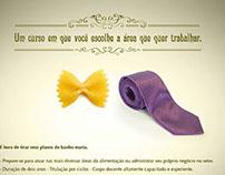 Campanha Unatec - Curso Tecnólogo Gastronomia