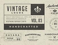 Vintage Logos Set 3