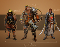 Character design - Medieval