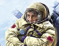 Astronauts Theme. Concept art.