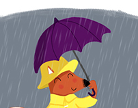 Rainy Day Fox