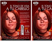 Campaña Lisap Ecuador.