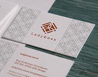 LadyBoss branding