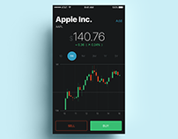Stocks Mobile App