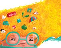 Fabulafia Kids Magazine -Editorial Illustrations