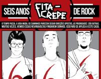 FITA-CREPE - 6 anos de rock