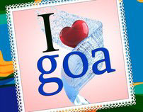 I LUV GOA STAMP