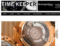TIME KEEPER WEBSITE