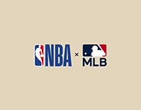 NBA × MLB Jersey Crossover
