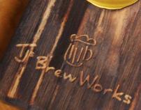 TJs Brew Works, Restaurant Branding