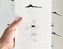 'La lluvia'