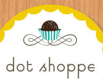 Dot Shoppe Custom Truffles branding