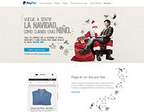 PayPal - Vuelve a sentir la navidad / Website / Mobile