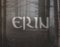 Erin, Custom Celtic Font