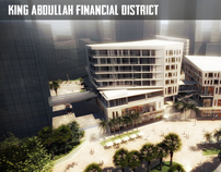 King Abdullah Financial District - Riyadh, Saudi Arabia