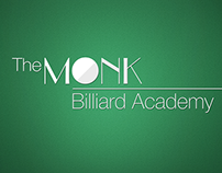 The Monk Billiard Academy App Design