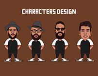 Characters design v1