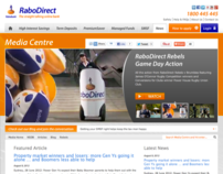 RaboDirect Media Centre